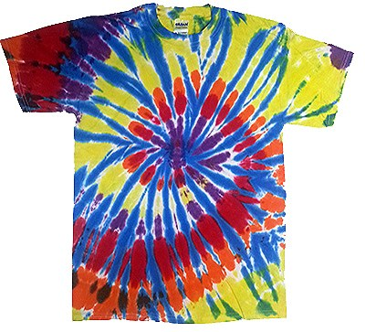 Tie Dye Kaleidoscope Adult Shirt
