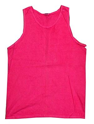 Neon Pink Unisex Adult Tank Top