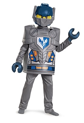 Lego Nexo Knights Clay Deluxe Child Costume
