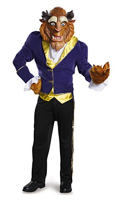 Disney Beauty And The Beast Deluxe Adult Costume