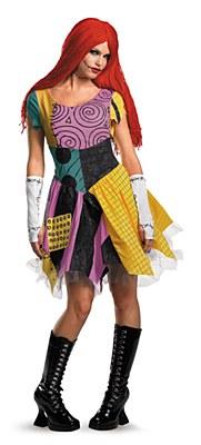 Nightmare Before Christmas Sassy Sally Adult Costume