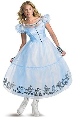 Disney Alice In Wonderland Movie Adult Costume
