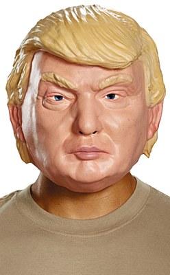 Donald Trump Plastic Mask