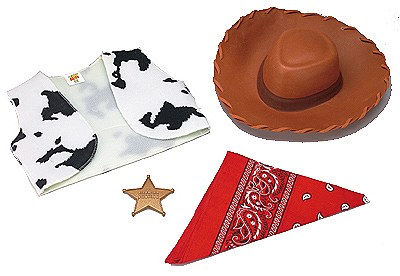 Toy Story Woody Accessory Kit Child Costume