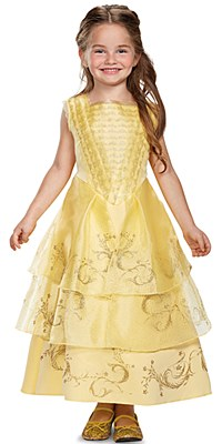 Disney Beauty And The Beast Deluxe Belle Child Costume