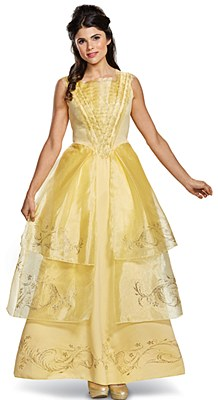 Disney Beauty And The Beast Belle Movie Deluxe Adult Costume