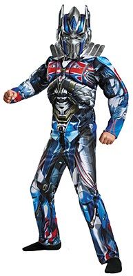 Transformers Optimus Prime Deluxe Muscle Child Costume