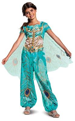 Disney Aladdin Jasmine Purple Classic Child Costume