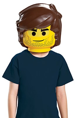 Lego Movie 2 Rex Dangervest Mask
