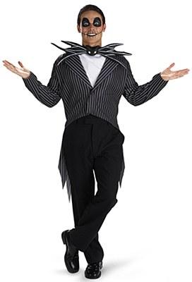 Nightmare Before Christmas Jack Skellington Adult Costume