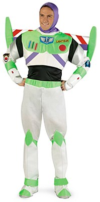Toy Story Buzz Lightyear Prestige Adult Costume