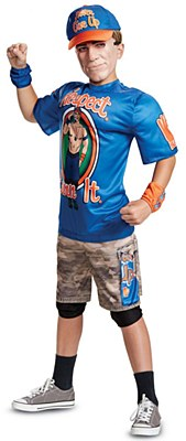 WWE John Cena Deluxe Muscle Child Costume