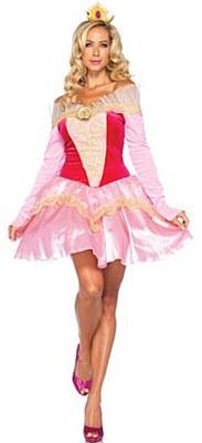 Disney Sleeping Beauty Aurora Adult Costume