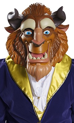 Disney Beauty And The Beast Mask
