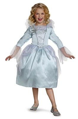 Disney Cinderella Movie Fairy God Mother Child Costume