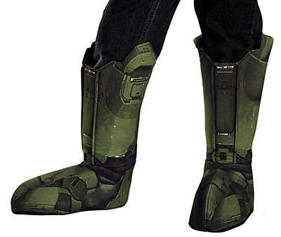 Halo Master Chief Child Boot Covers