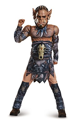 Warcraft Durotan Deluxe Muscle Child Costume