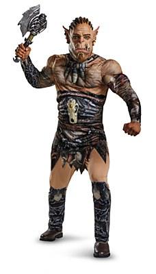 Warcraft Durotan Deluxe Muscle Teen Costume
