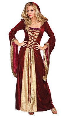 Lady Of Thrones Deluxe Adult Costume