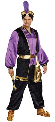 The Sultan Adult Plus Costume