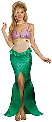 Sea Goddess Mermaid Adult Costume
