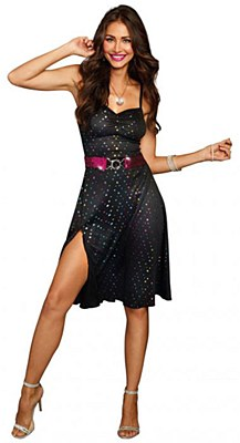 Disco Diva Dress Adult Costume
