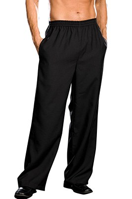 Basic Men's Black Pants