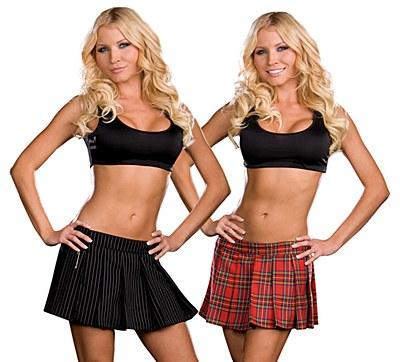 School Girl / Gangster Reversible Skirt