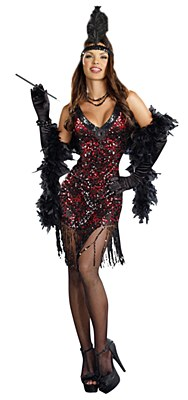 Dames Like Us Flapper Adult Costume