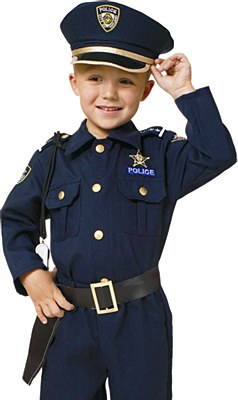 Police Belt And Child Holster