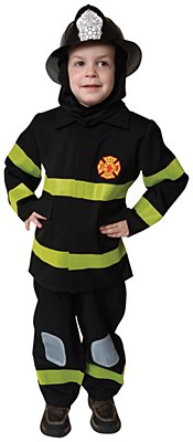 Fire Fighter Toddler Child Costume