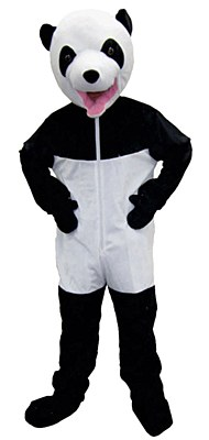 Panda Bear Economy Child Costume