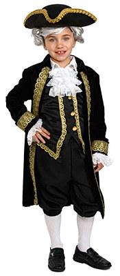 Alexander Hamilton Deluxe Toddler Costume