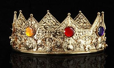Men's Deluxe Metal Crown