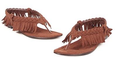 Indian Fringe Sandal Women's Shoes