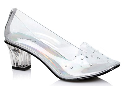 Cinderella Women's Clear Shoes