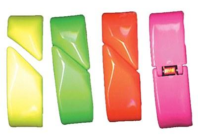 80's Neon Hinged Bangle Bracelet