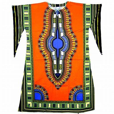 Dashiki Hippie Adult Dress