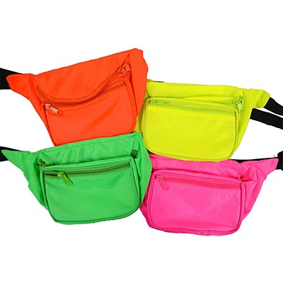 Classic 80's Neon Fanny Pack