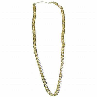 Disco Gold Chain Necklace