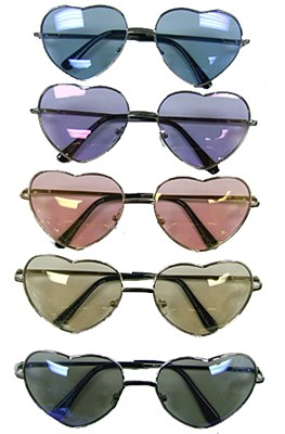 Heart Shaped Ocean Lens Sunglasses