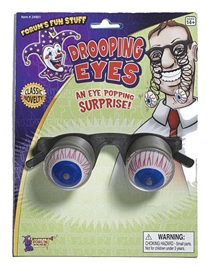 Crazy Drooping Eyes Glasses