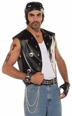 Biker Studded Men's Vest