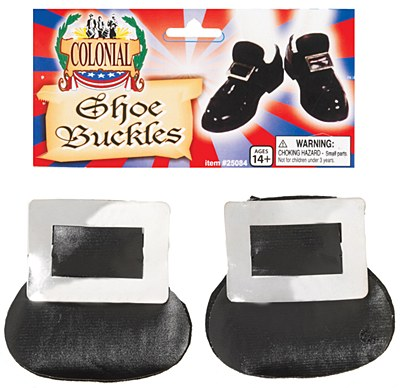 Colonial / Pilgrim Silver Shoe Buckles