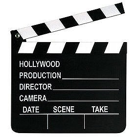 "Movie 7""x8"" Clapboard"