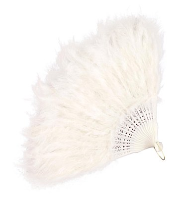 Fan White Feather