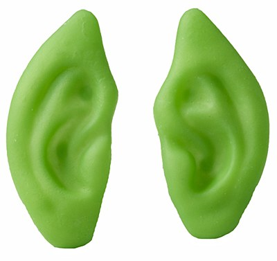 Pointed Green Ears