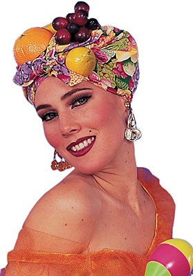 Carmen Miranda Fruit Headpiece