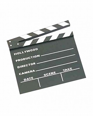 "Movie 10""x12"" Clapboard"