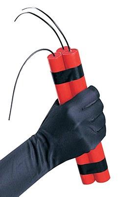 Fake Dynamite Sticks Prop